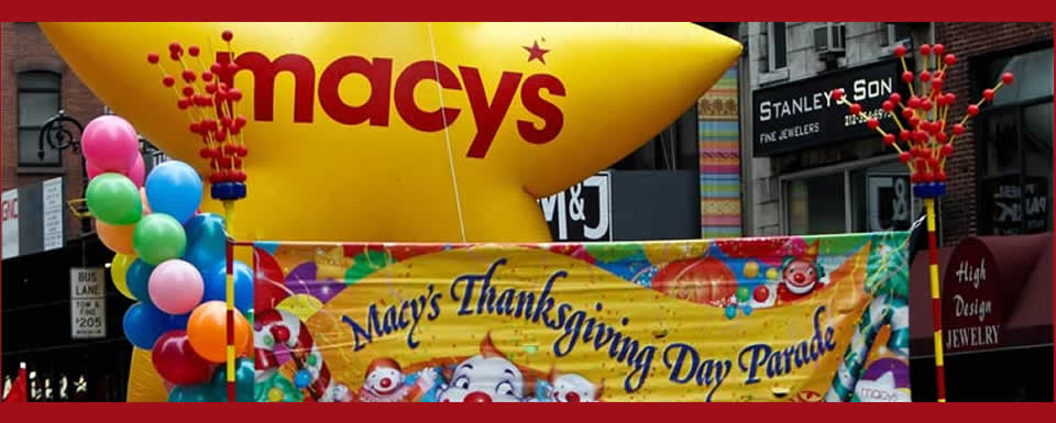 MACY'S & OUR 37th SEASON INFORMATION