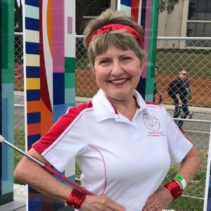 majorette Barbara Williams