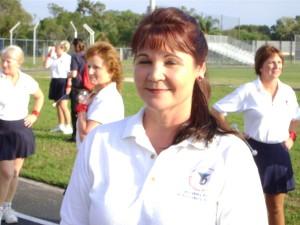 majorette Carolyn Thames