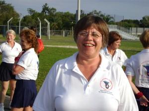 majorette Debbie Dykens