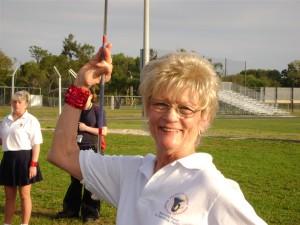 majorette Kathy Hewitt