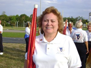 tall flags Kathy Metzger